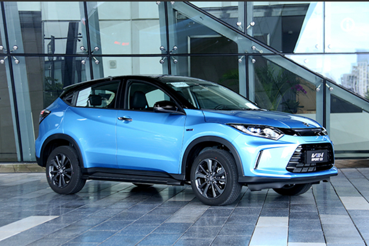 广汽本田VE-1售15.98-17.98 万元 本田在国内第一款电动车上市!