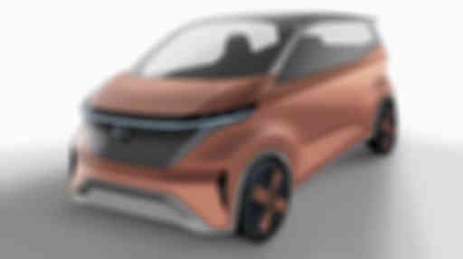 ▲ 日产 IMk 纯电动概念车