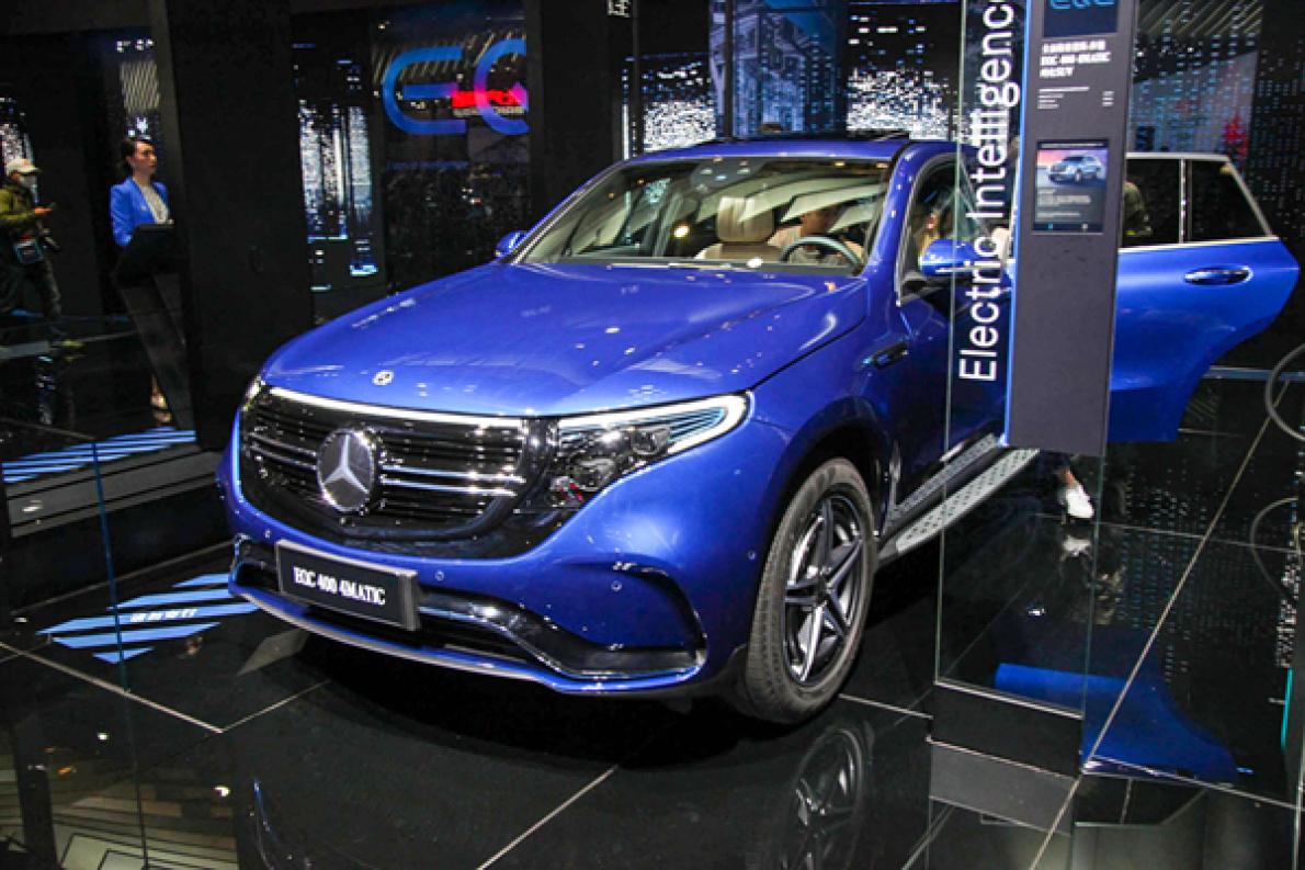 搭载宁德时代电池,NEDC 工况续航 415 km,北京奔驰EQC 11月 8 日上市