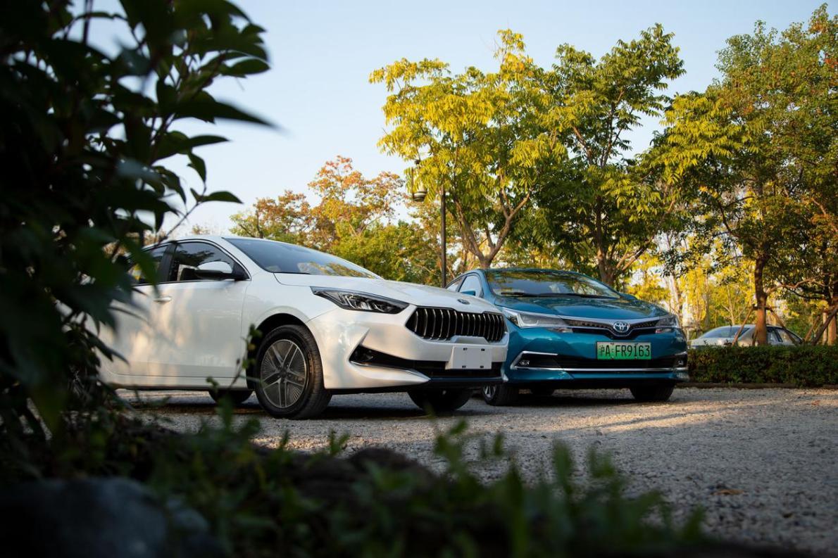 合资品牌插混轿车之争:起亚K3 PHEV对丰田卡罗拉双擎E+