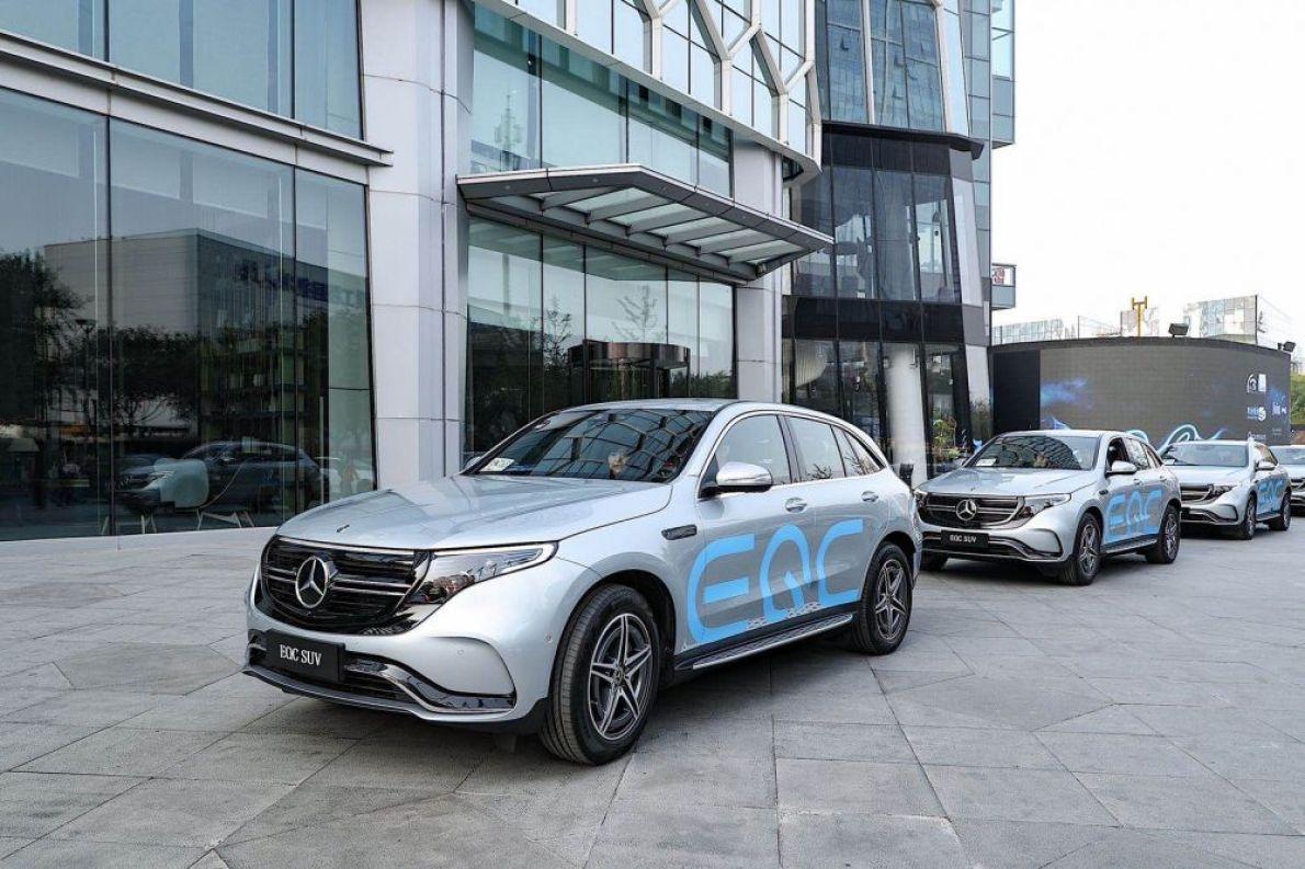 补贴后 56.38-60.68 万!北京奔驰EQC上市