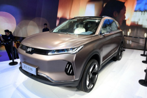 NEDC工况续航503km,威马EX6 Plus 预告图发布,将于广州车展亮相