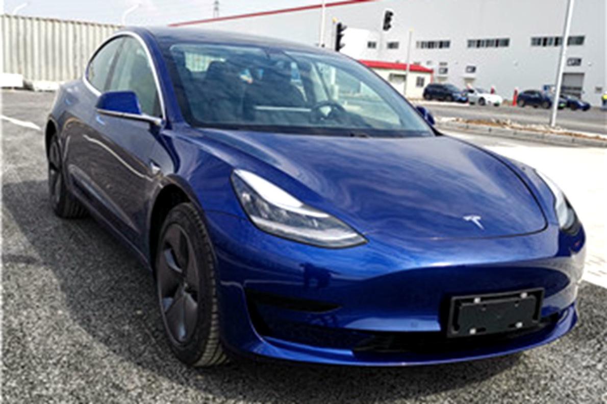 国产版特斯拉Model 3 申报信息曝光,动力比官网在售车型更强劲