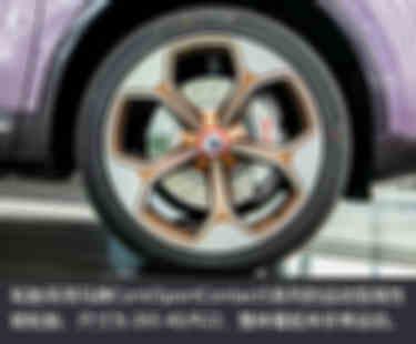 輪胎采用馬牌