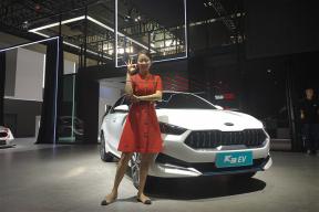 有那么一点小倔强还兼顾家用 2019广州车展珠珠带你看东风悦达·起亚K3 EV