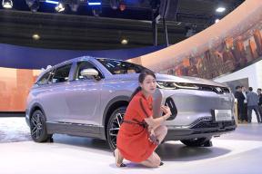 补贴后23.99万元享6项权益 2019广州车展珠珠带你看威马EX6 Plus