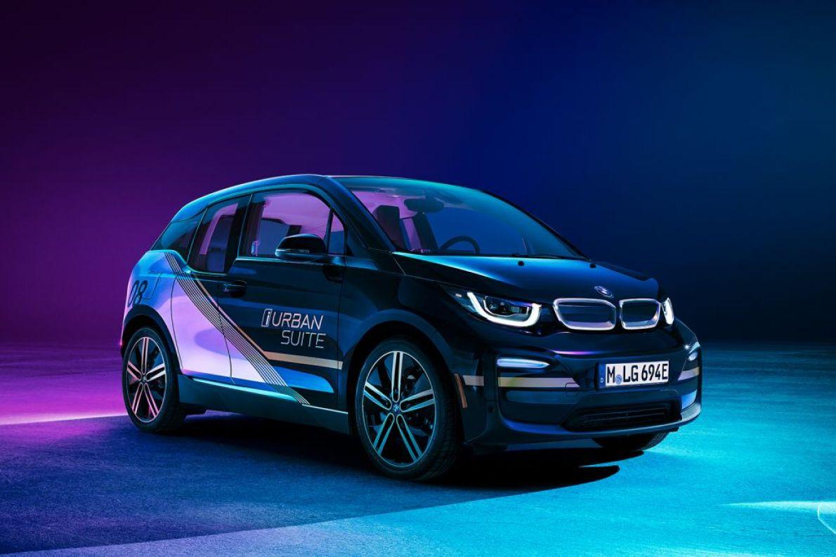 寶馬公布BMW i3 Urban Suite圖片 為2020 北美CES出行服務
