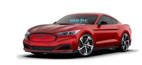 外媒又出假想图,这回是电动版 Mustang !