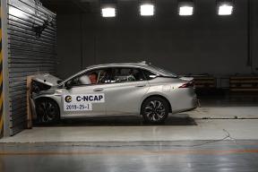 C-NCAP 碰撞测试结果公布!看看唯一的电动车表现如何?