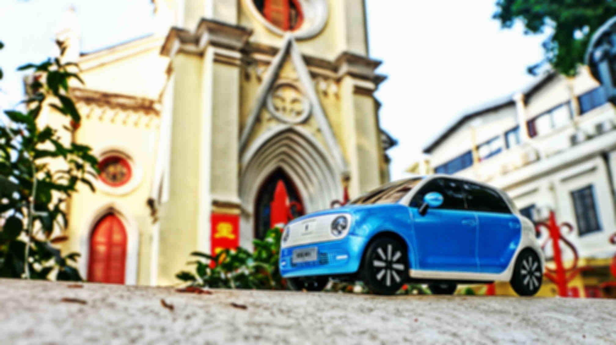 车模与教堂2