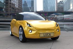 比纯电动车还要环保的车要来啦,它叫Luca,浑身都是宝