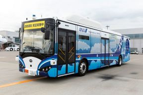 全日空与比亚迪等车企合作研发自动驾驶电动巴士 或将年底在羽田机场投入使用