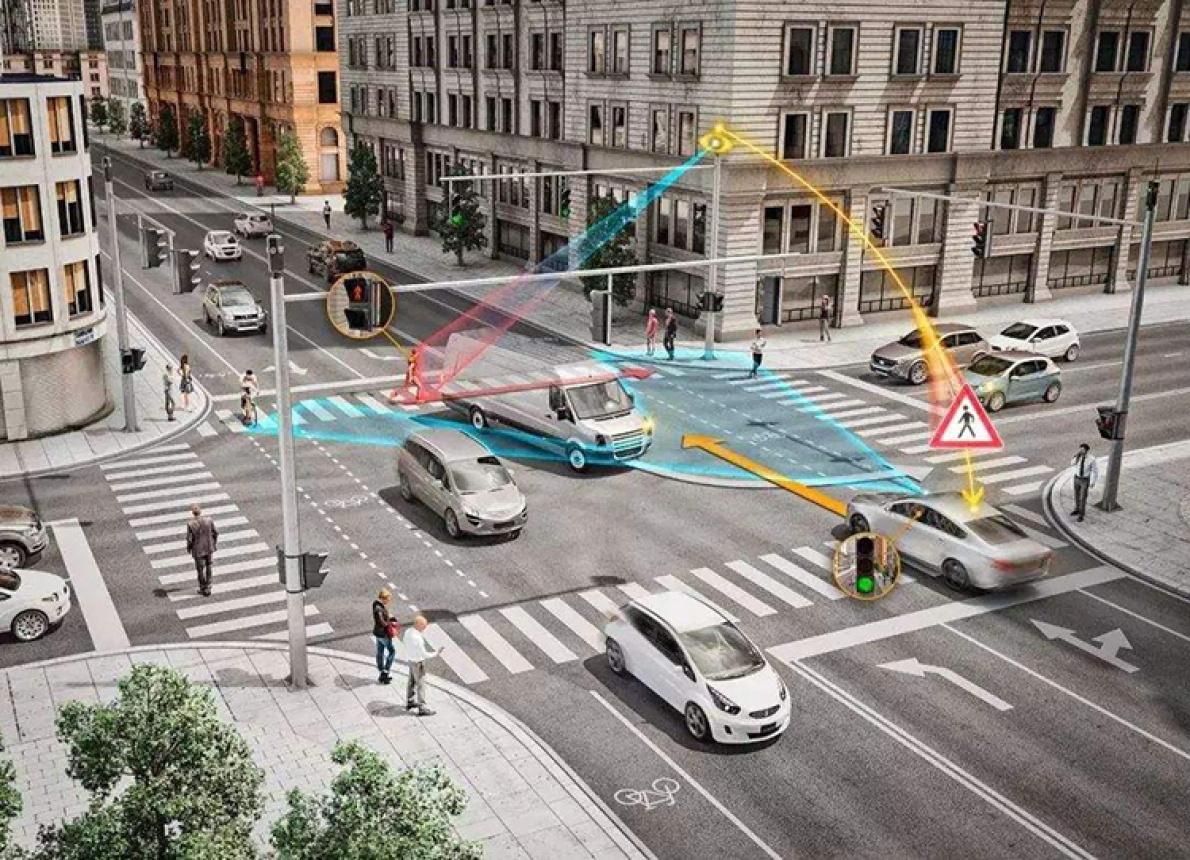 把红绿灯搬上车 奥迪V2I技术又有新进展