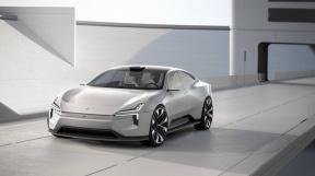 采用全新设计理念,主打环保和科技,极星Precept概念车全球首发