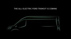 福特纯电动全顺正式发布,量产版车型预计2022年推出