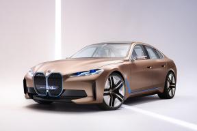 BMWi4概念车:风头盖过老大哥,宝马新能源的明日之子