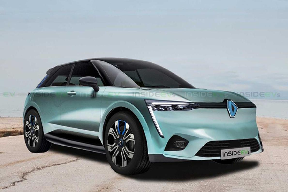 雷诺全新电动车可能长这样,600km续航,2021年推出