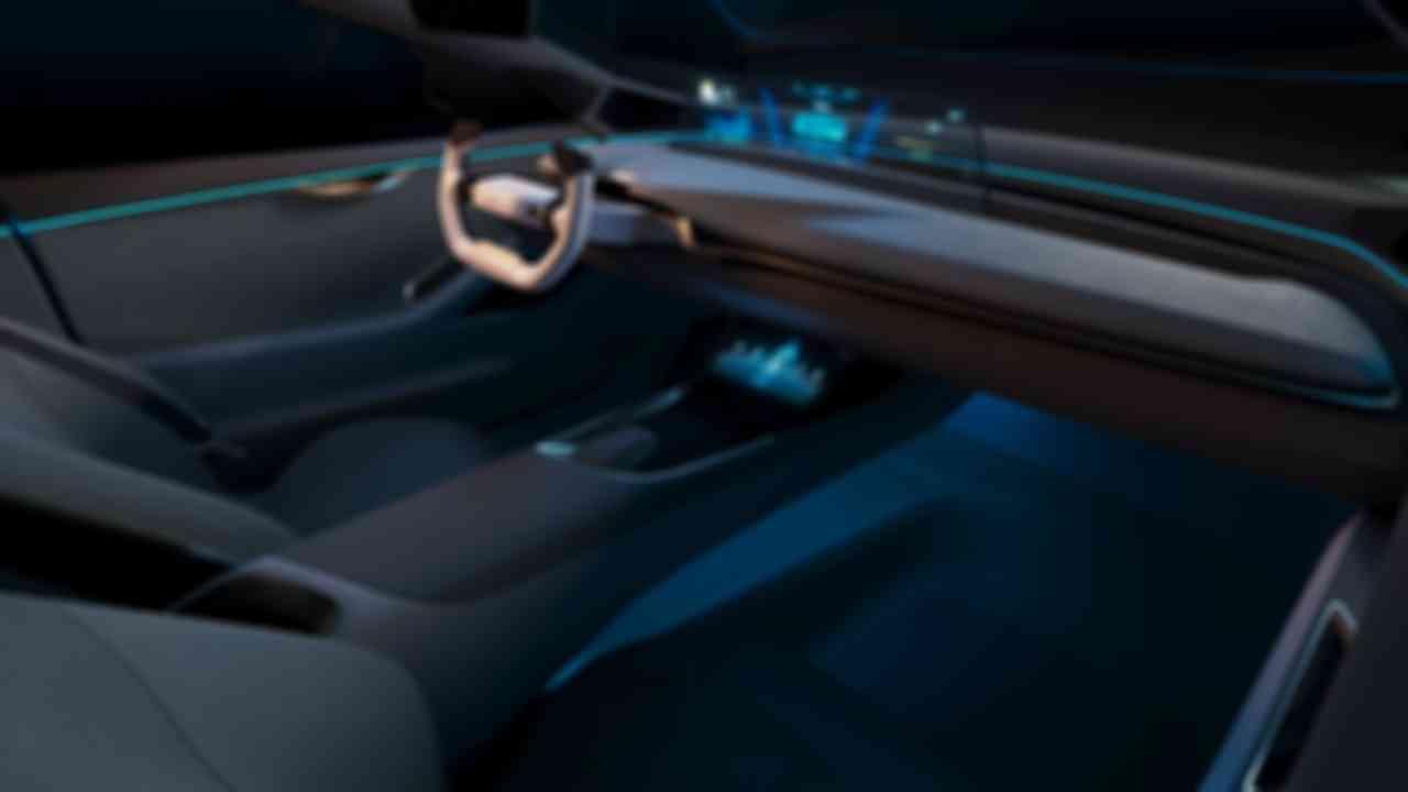 威馬Maven概念車座艙