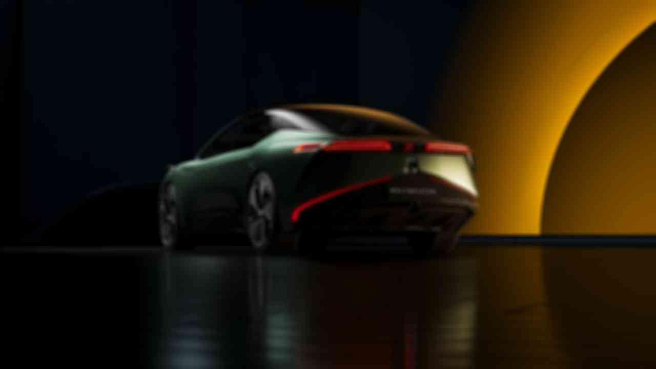 威馬Maven概念車車尾