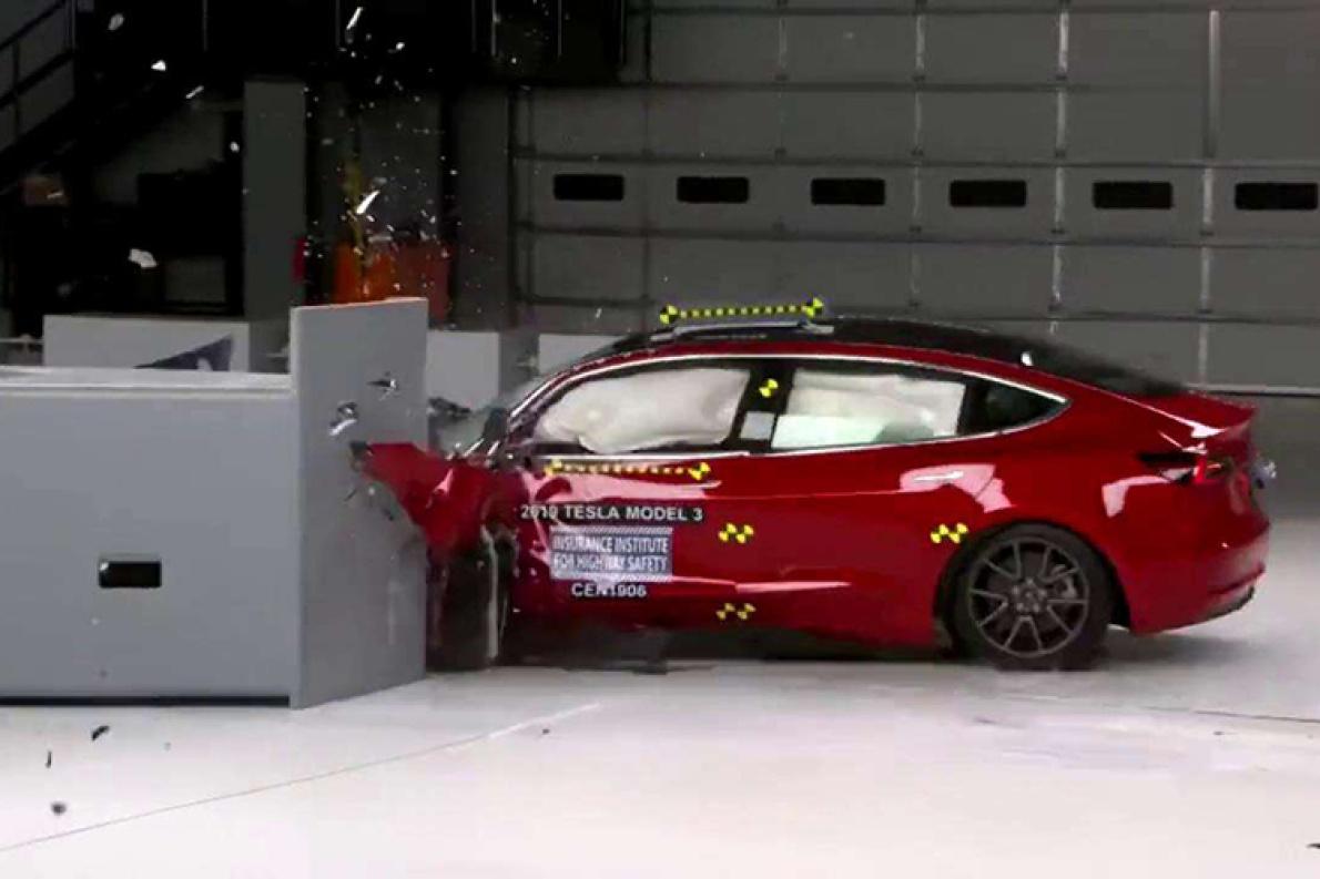 2項優秀 1項良好  國產Model 3中保研碰撞結果公布