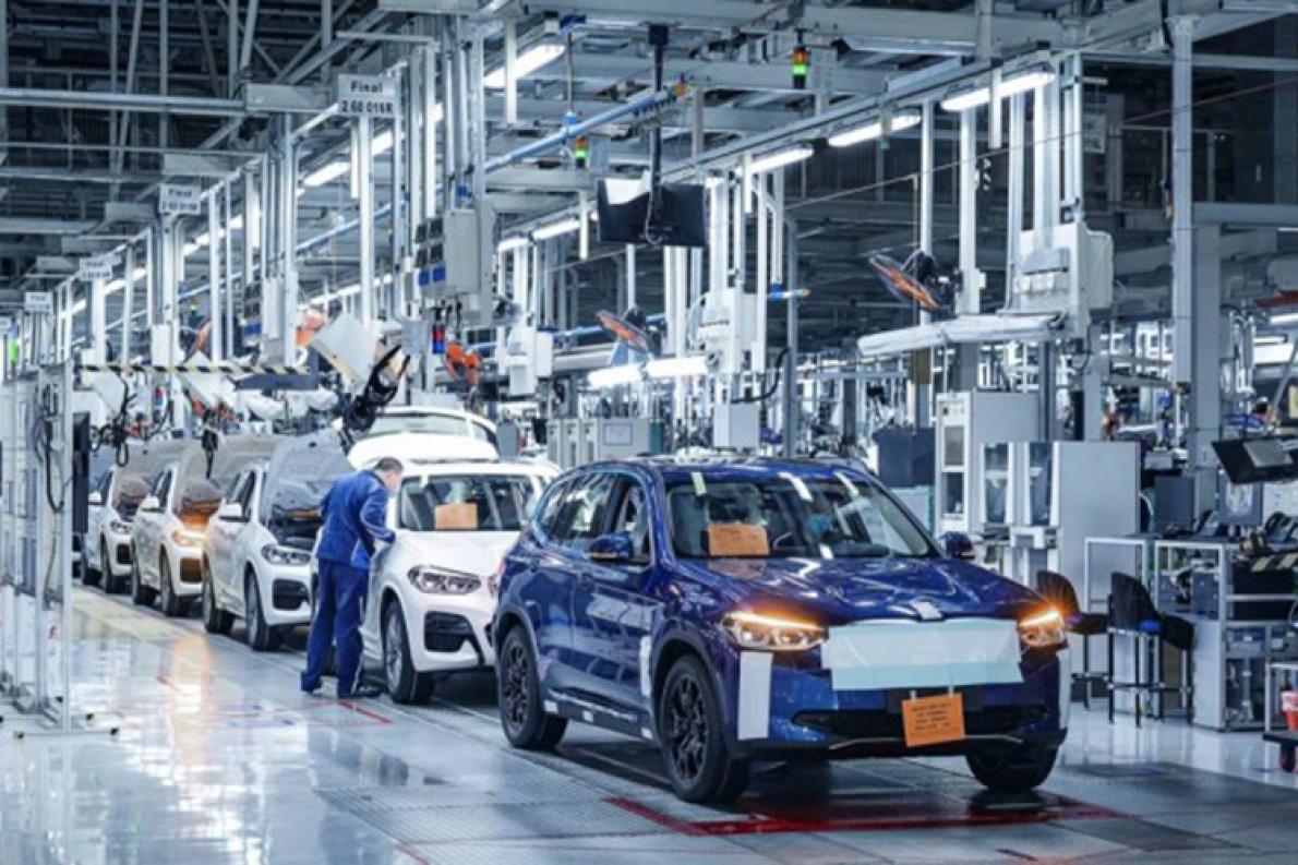 宝马iX3电动SUV启动试生产 或于年内上市