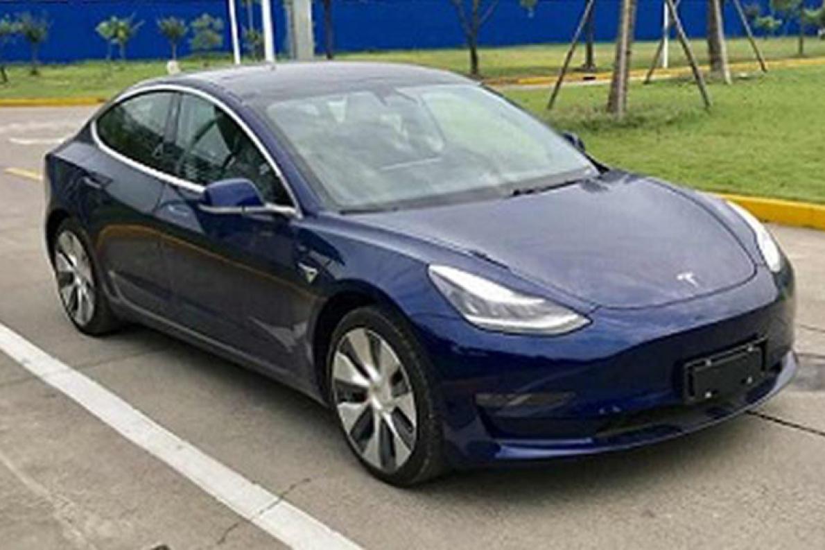 国产Model 3高性能版申报图曝光  有望提前交付
