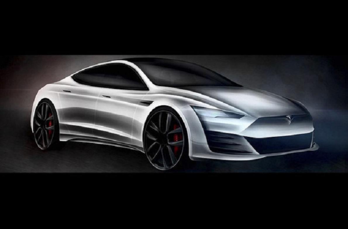 外观更具攻击性 全新特斯拉Model S渲染图曝光