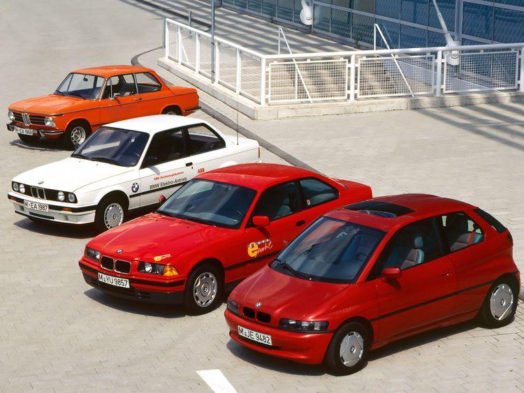 宝马电动化在二十世纪的部分代表车型