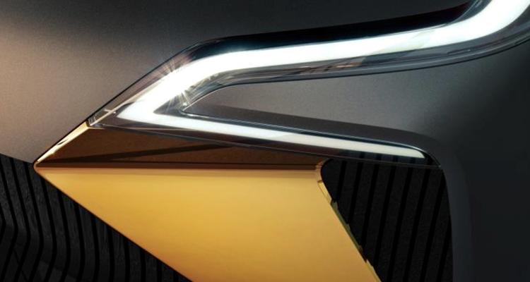 此前的雷诺全新纯电SUV概念车预告图