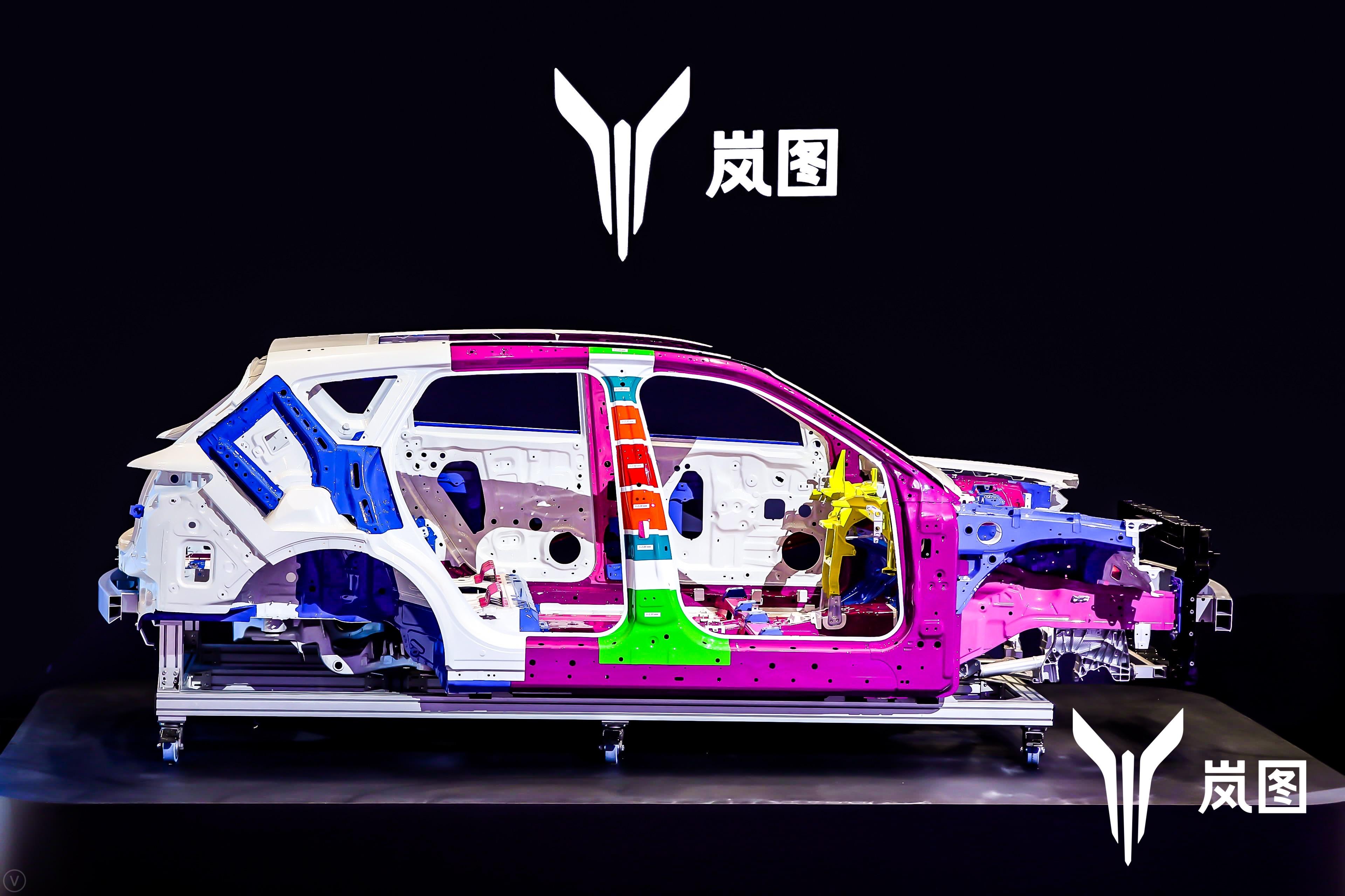 岚图中大型高端智能电动SUV白车身01