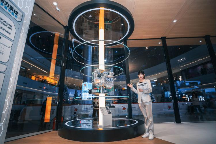 第三代i-MMD混动系统特装展示
