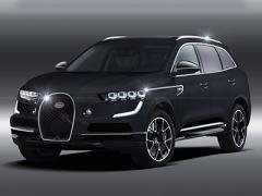 最大功率1888Ps 布加迪或推纯电动SUV