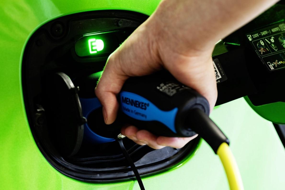 2017款 Smart forfour electric drive 官图 充电