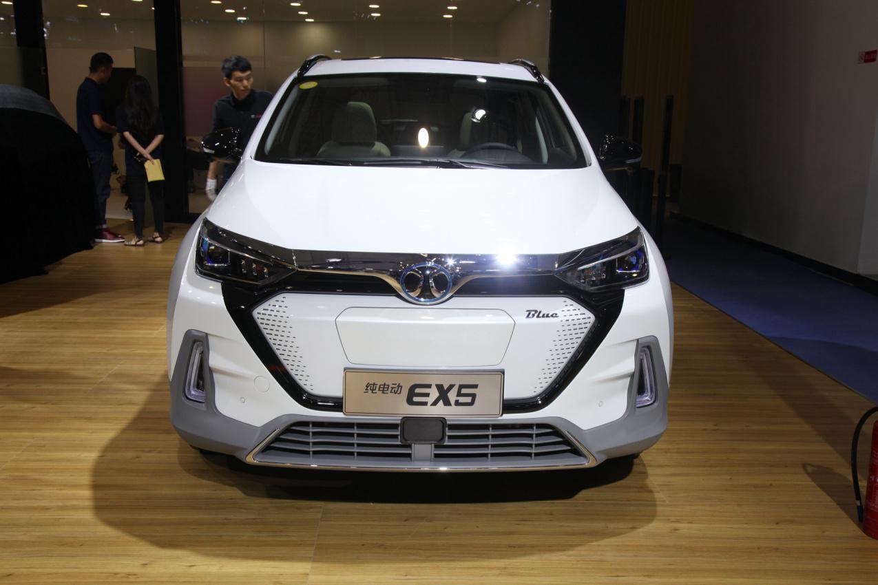2018款 北汽新能源 EX5 车展 外观