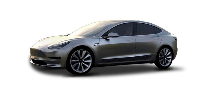 2016款 特斯拉 Model3 头图