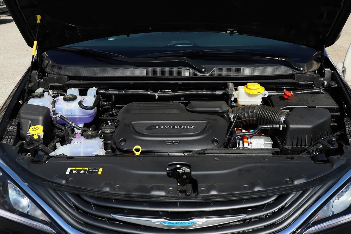 2018款 克莱斯勒 Pacifica e Hybrid 基本型 实拍 动力底盘