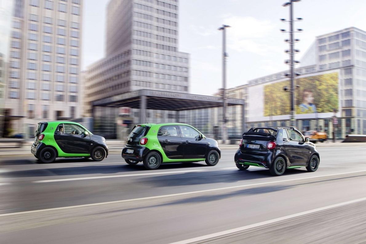 2017款 Smart forfour electric drive 官图 外观