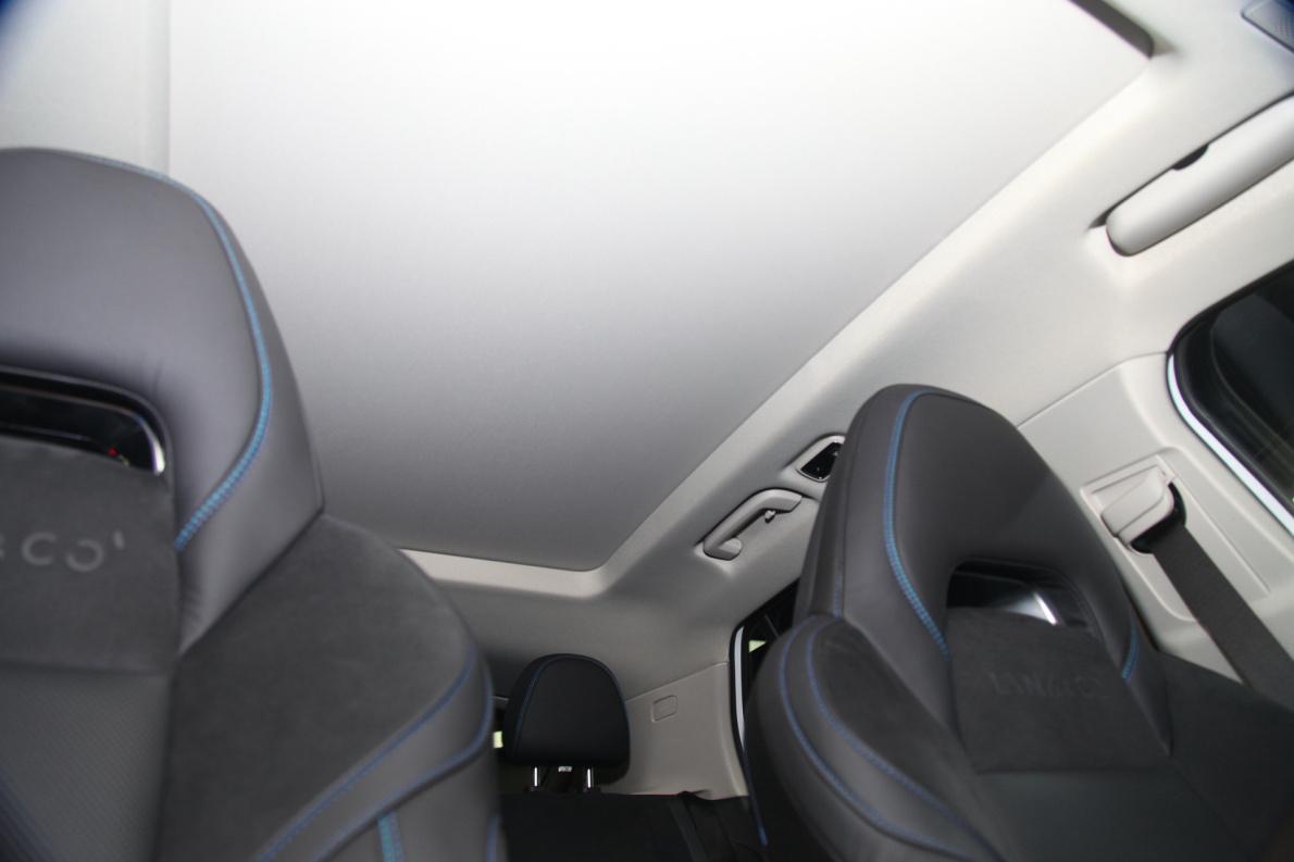 2018款 领克 01 车展 座椅空间