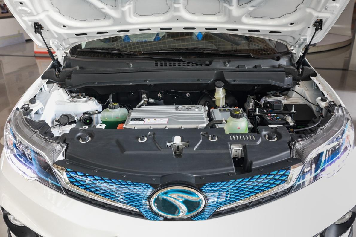 2018款 东南 DX3 EV 旗舰型 实拍 动力底盘