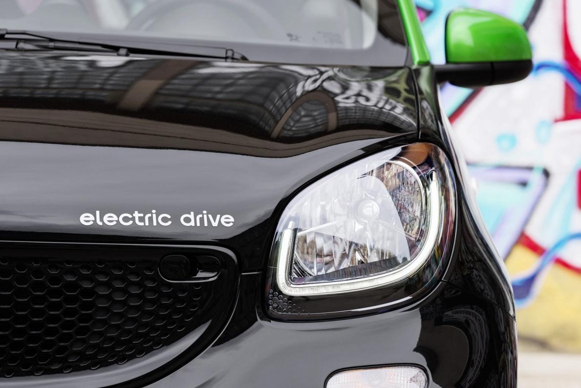 2017款 Smart forfour electric drive 官图 外观细节