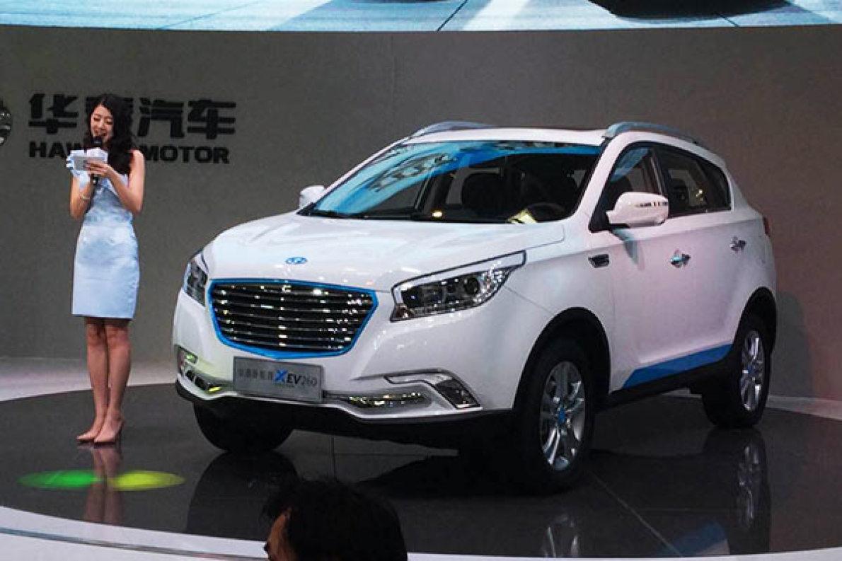 2016北京车展:华泰xEV260正式发布