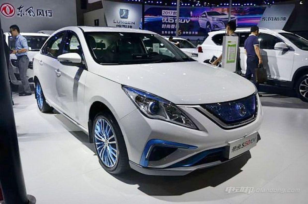 东风风行景逸S50 EV 亮相广州国际车展