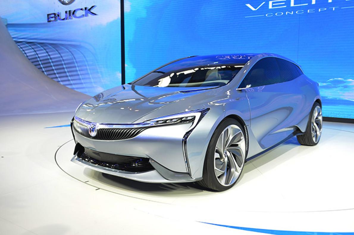未来的预演:实拍别克Velite插电混动概念车