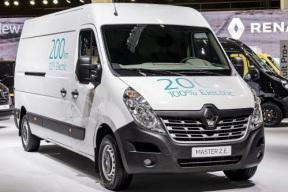 雷诺推新款Kangoo ZE和Master ZE电动商用车