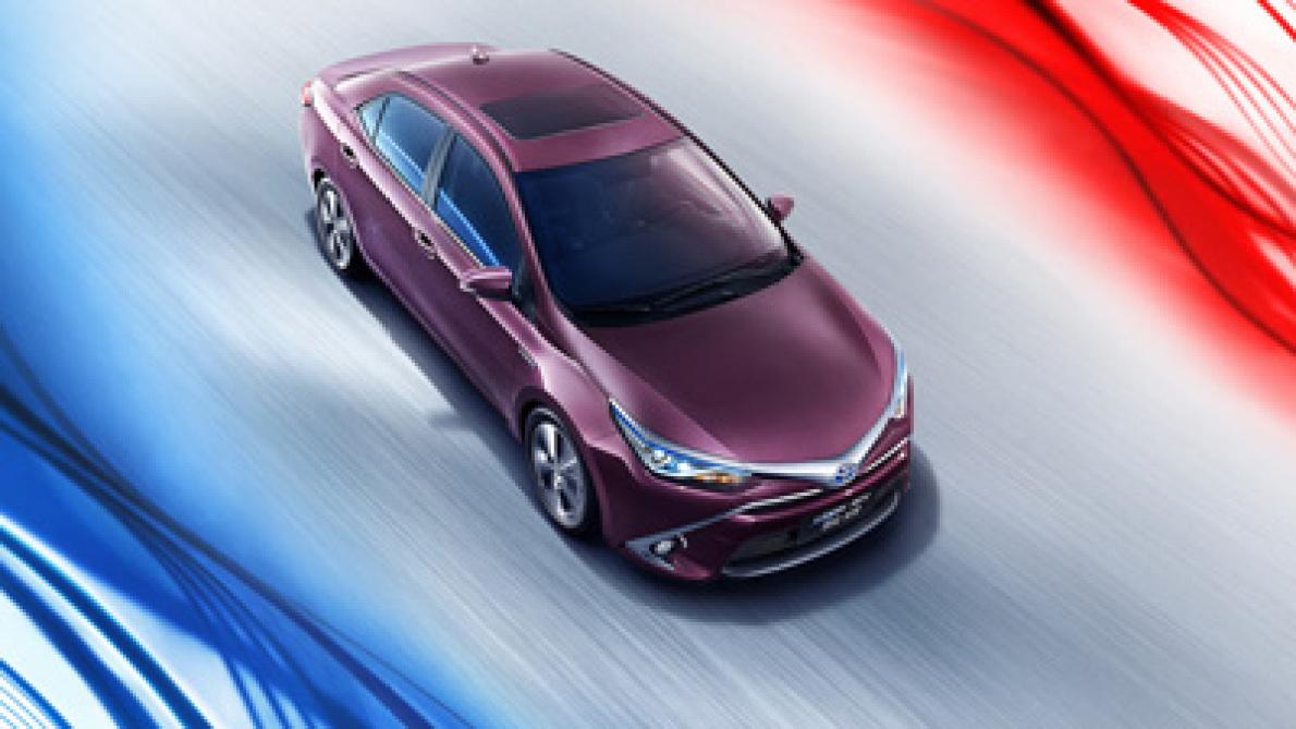 广汽丰田雷凌双擎特装版将于4月19日上市