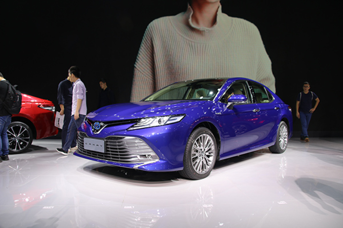 2017广州车展 邦解读:丰田第八代凯美瑞