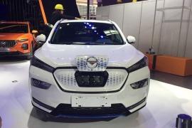 海马E5实车亮相北京车展 外观与S5基本一致
