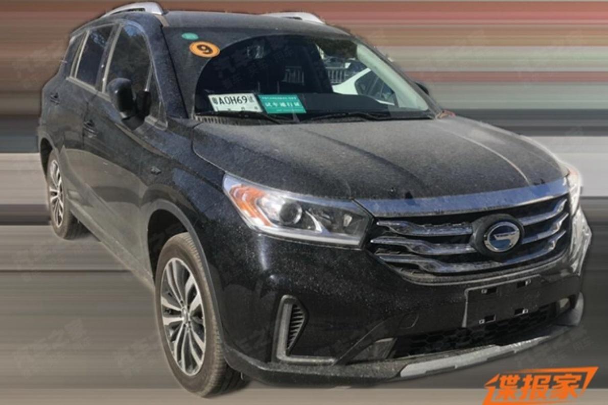 广汽传祺GS4 EV申报图曝光,换成更方便的旋钮式换挡