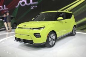 最方的电动车,起亚全新一代Soul洛杉矶车展发布