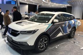 探馆2019上海车展:东风风神AX7氢燃料电池版